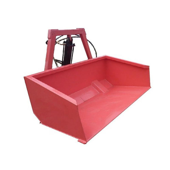 Millers Falls TWM Rear Tractor Bucket 1260mm (4') Wide 3 Point Linkage Hydraulic #FITB4H 1