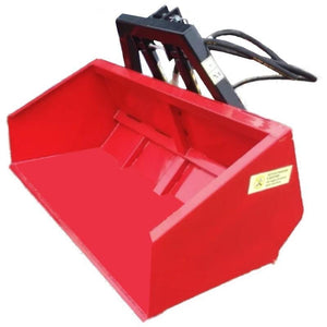 Millers Falls TWM Rear Tractor Bucket 1500mm (5') Wide 3 Point Linkage Twin Ram Hydraulic #FITB5H 1