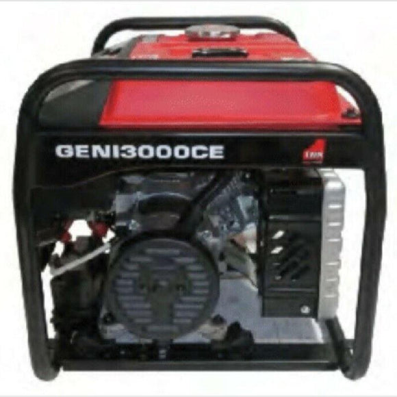 Millers Falls TWM Portable Generator 2.2kW 2.8kVA 6.5hp 196cc Electric Start Petrol Engine #GENI3000CE 1