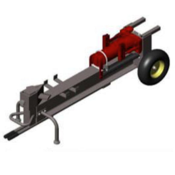 Hydraulic Log / Wood Splitter Millers Falls Black Diamond 2 Handle Manual 1