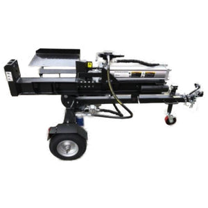 Millers Falls Black Diamond 30 Ton Electric Start Hydraulic Log Splitter with Jockey Wheel and Log Table #LS30JTTESBD 1