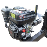 Millers Falls Black Diamond 30 Ton Manual Start Hydraulic Log Splitter with Jockey Wheel and Lifting Table #LS30LTBD 11