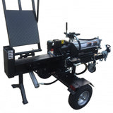 Millers Falls Black Diamond 30 Ton Manual Start Hydraulic Log Splitter with Jockey Wheel and Lifting Table #LS30LTBD 4