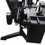 Millers Falls Black Diamond 50 Ton Manual Start Hydraulic Log Splitter with Jockey Wheel and Lifting Table #LS50LTBD 7