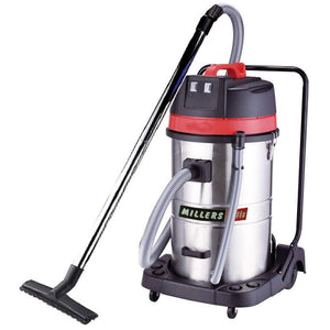 Millers Falls PT2230 70 Litre Industrial Commercial Stainless Steel Canister Wet and Dry Vacuum Cleaner 1