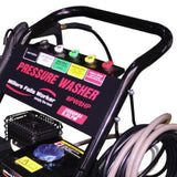 Millers Falls TWM PW8HP 3000psi Petrol Engine Pressure Washer Cleaner on Trolley 2