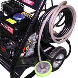 Millers Falls TWM PW8HP 3000psi Petrol Engine Pressure Washer Cleaner on Trolley 5