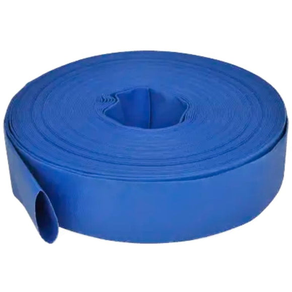 Millers Falls TWM Heavy Duty Lay Flat Hose 100m x 50mm Reinforced Industrial Irrigation Water Transfer #QWLF50100