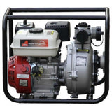 "Millers Falls TWM 6.5HP Petrol 2"" Firefighting Pump Single Impeller Portable 3 Hose Outlets #QWPFS652-eu 1"