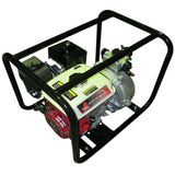 "Millers Falls TWM 6.5HP Petrol 2"" Firefighting Pump Single Impeller Portable 3 Hose Outlets #QWPFS652-eu 2"