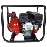 "Millers Falls TWM 6.5HP Petrol 1.5"" Firefighting Pump Twin Impeller 3 Outlets #QWPFT6515-eu"