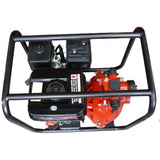 Millers Falls TWM Electric Start 6.5HP Petrol Firefighting Pump Twin Impeller Portable 3 Hose Outlets #QWPFT6515ES-eu 2
