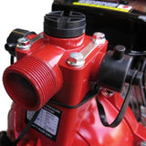 Millers Falls TWM Electric Start 6.5HP Petrol Firefighting Pump Twin Impeller Portable 3 Hose Outlets #QWPFT6515ES-eu 9