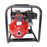 Millers Falls TWM Electric Start 6.5HP Petrol Firefighting Pump Twin Impeller Portable 3 Hose Outlets #QWPFT6515ES-eu 4