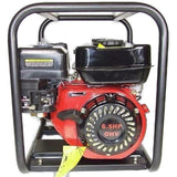 Millers Falls TWM Electric Start 6.5HP Petrol Firefighting Pump Twin Impeller Portable 3 Hose Outlets #QWPFT6515ES-eu 7