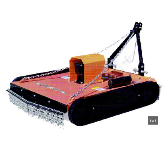 Millers Falls 3 Point Linkage PTO Slasher Offsettable 1760mm Cut Adjustable Height #STM180 1