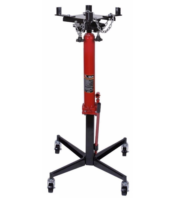 Millers Falls TWM 454kg (1000lb) Hydraulic Under Hoist Telescopic Transmission Jack #VP8240 1