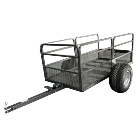 Millers Falls TWM Steel Mesh Dump Cart, ATV Garden Tipper Trailer 567KG 22 Cubic Ft #VP8448 1