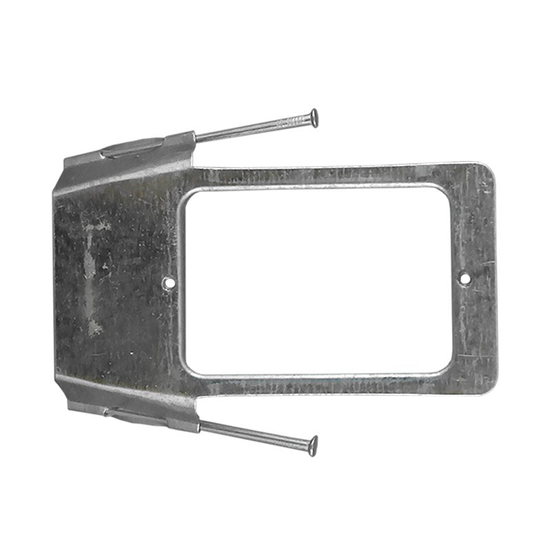 HORIZONTAL MOUNTING BRACKET with NAILS