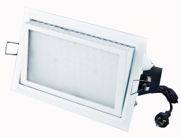 Gimbal 38W LED Rectangular Shop Light