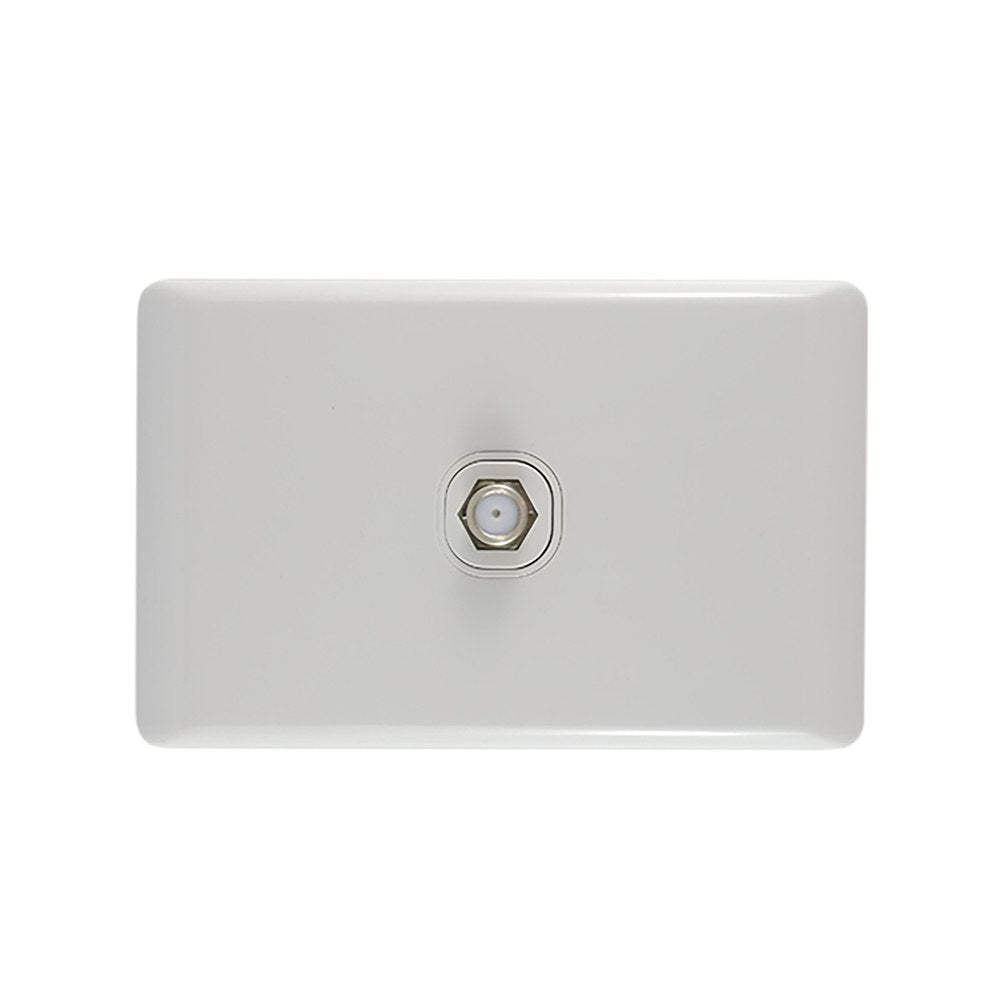 TV OUTLET PLATE