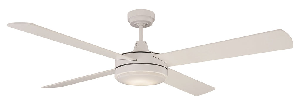 "Mercator Luna 52"" Slimline Timber AC Ceiling Fan"
