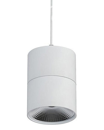 Matt White LED Round Pendant - Havit