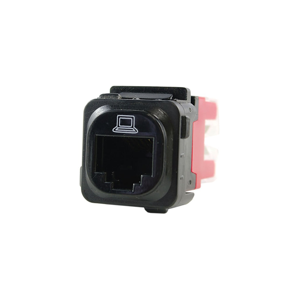 MECHANISM RJ45 PHONE BLACK