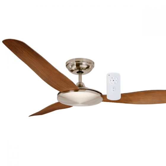"Mercator Sorrento 52"" DC Slimline ABS Blade Ceiling Fan with Remot"