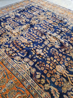 8'8 x 11'6 Antique Persian Mahal Rug