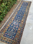 2'2 x 8'9 Northwest Persian antique blue runner (#423)