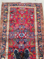 3'6 x 6' Antique Persian Hamadan Rug