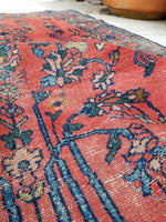3'6 x 4'2 Antique Love Worn Lilihan Rug