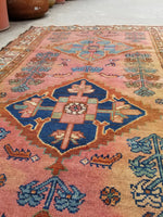 3'4 x 6'2 Antique Persian Malayer