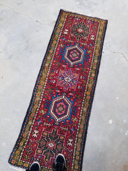 2'1 x 6'1 vintage Northwest Persian Runner
