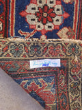 9'3 x 12'6 antique Persian coral pink Mahal rug (#1064) / 9x13 vintage rug