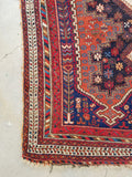 5'1 x 6'6 Antique Persian Afshar Rug (#1295)