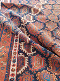 5 x 8 Antique Paisley Persian Afshar Rug (#1343)