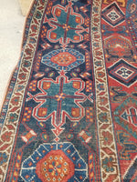 5'1 x 6'7 antique Persian Afshar Rug (#1469ML)
