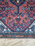 2x3 Antique Persian Malayer scatter rug (#594)
