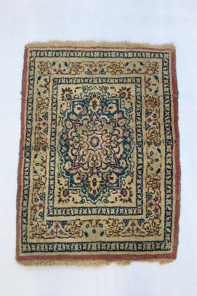 1'10 x 2'6 Antique Persian Mashhad (#1212) at Anthropologie