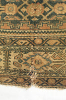 4'8 x 6'2 Antique Persian Malayer (#1350) at Anthropologie