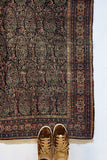 4'2 x 6'5 Antique Persian Senneh (#994ML) at Anthropologie