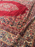 15 x 18 Antique Oversize Sarouk