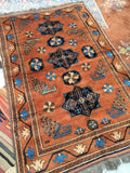 3'10 x 6' Antique afghani rug  (#853ml)