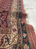 5 x 6'7 tribal NW Persian rug  (#854ML)