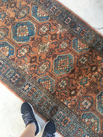 3'3 x 6'2 antique Persian Malayer (#856)