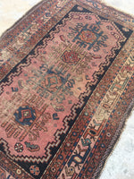 2'7 x 3'9 Antique Persian Malayer