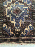 3'9 x 6'6 Antique Baluch Rug