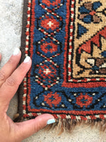 3'10 x 7'7 Antique Shiraz Tribal Rug